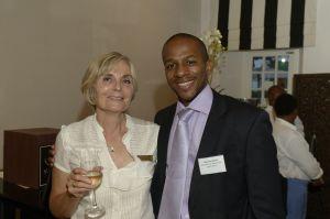 Julie Dunsford and Marumo Nkomo