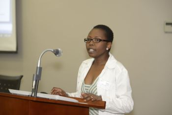 Malebakeng Forere opens the conference