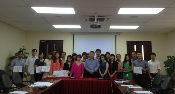 Around 30 government officials took part in the training.
